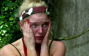 Helen breaks down during a bushtucker trial
